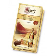 Pralinky s brandy Asbach a cuk..