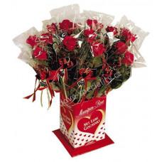 Marcipánová růže..
