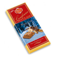 Zimní tabulka čokolády..