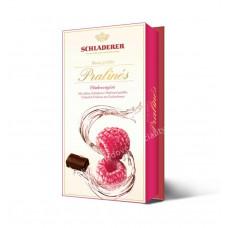 Malinovice v mléčné čokoládě 1..