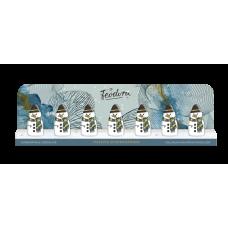 Sněhuláci z mléčné čokolády..