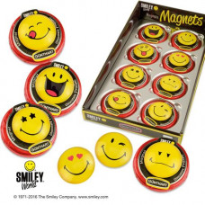 SMILEY medajlon s magnetkou..