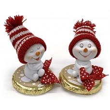 Vánoční medailon s figurkou..