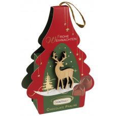Vánoční pralinkový dárek s dře..