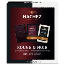 HACHEZ-mini čokolády 77% a 88%..