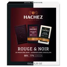 HACHEZ-mini čokolády 77% a 88% 150g