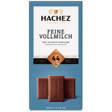 Hachez jemná mléčná čokoláda 4..