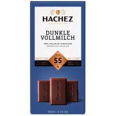 Hachez tmavá mléčná čokoláda 5..