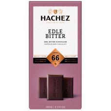 Hachez  hořká čokoláda 66%  10..