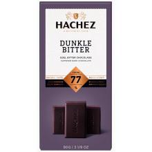 Hachez Tmavá hořká Čokoláda 77..