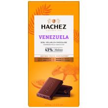 Hachez  čokoláda Venezuela 43%..