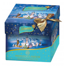 SCHWERMER vánoční kostka  modr..